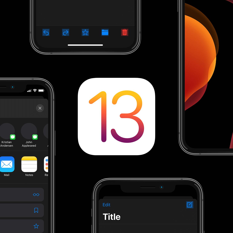 iOS 13 UI